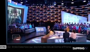 LGJ : Emilia Clarke face aux réactions des fans de Games of Thrones
