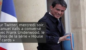 House of cards : Manuel Valls taclé par Frank Underwood