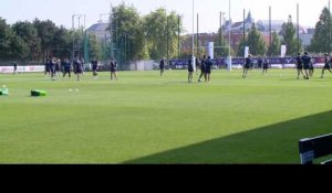 Top 14 - Racing 92: entraînement du 30/08/2016