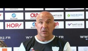 Top 14  ASM Clermont - Racing92: interview de Laurent Travers