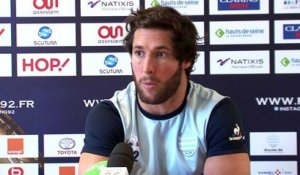 Top 14  ASM Clermont - Racing92: interview de Maxime Machenaud