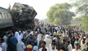 Pakistan/accident de trains: quatre morts, au moins 100 blessés