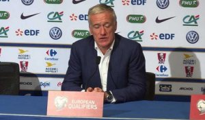 France - Bulgarie: Didier Deschamps parle du duo K. Gameiro et A. Griezmann
