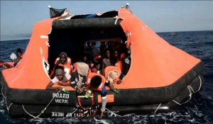 6.055 migrants secourus en mer lundi et onze morts