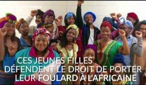 Ces jeunes filles se battent pour garder leurs foulards à l africaine dans leur  lycée dfb8e44dc12