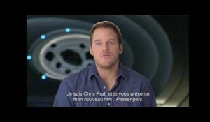 Passengers - greeting Chris Pratt