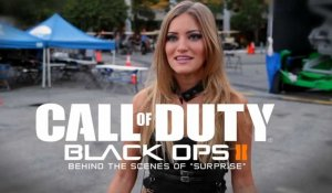 "Call of Duty : Black Ops 2 - Behind the Scenes of ""Surprises"""