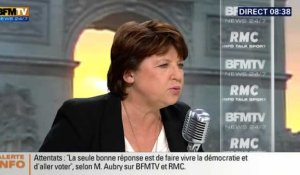 Bourdin Direct : Martine Aubry tacle Marine Le Pen