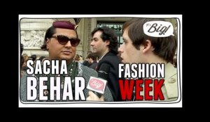 Sacha Béhar à la Fashion Week 2013