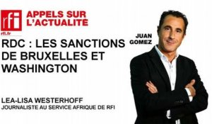 RDC : les sanctions de Bruxelles et Washington