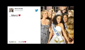 Miss France 2017 : Les internautes félicitent Alicia Aylies