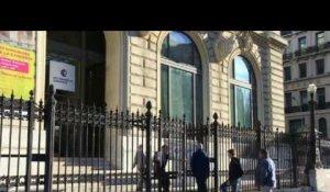 Election: ouverture des bureaux de vote images à lyon sur orange