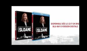 MISS SLOANE - Dès le 12/7 en DVD, BLU-RAY & DIGITAL