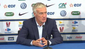 "Amical - Deschamps : ""Vitesse et percussion"""