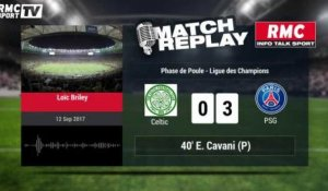 Celtic-Psg (0-5) : Le Match Replay avec le son de RMC Sport