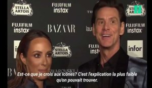"""Il n'y a aucun sens à tout ça"": l'interview surréaliste de Jim Carrey à la Fashion Week de New-York"