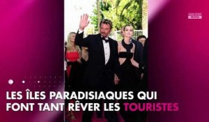 Johnny et Laeticia Hallyday inquiets avant le passage de l'ouragan Irma (Photo)