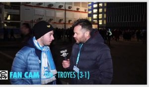 Fan Cam - OM - Troyes (3-1) :  Gustavo enflamme tous les supporters