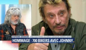 700 bikers suivront le cortège de Johnny: comment y participer?