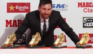 La Liga : Messi remporte son 4e Soulier d'Or