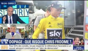 Dopage: que risque Christopher Froome ?