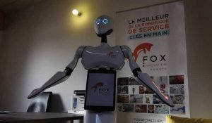Interview du robot Maava avant la Digital Tech Conference à Rennes