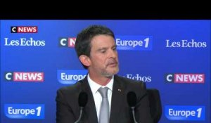 "Valls avant l'interview de Macron: ""On passe beaucoup de chose à Monsieur Plenel"""