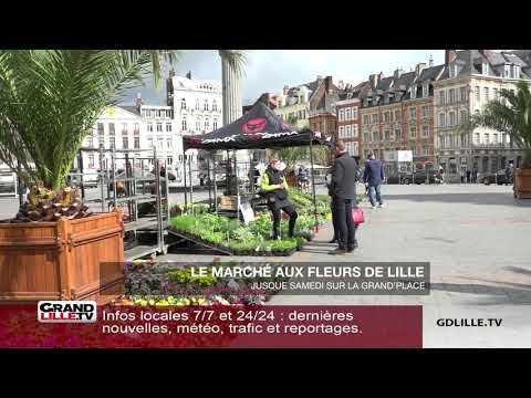 Le marché aux fleurs de Lille sur Orange Vidéos d7ee2671f79