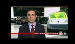 Plateau invité : Carlos Ghosn au Mondial de l'automobile