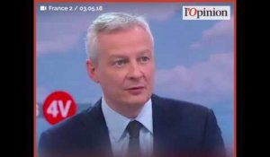 Suppression de l'«exit tax»: la justification de Bruno Le Maire