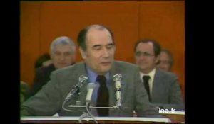 Congres PS : Mitterrand