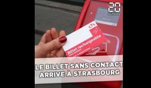 Le billet sans contact arrive à Strasbourg