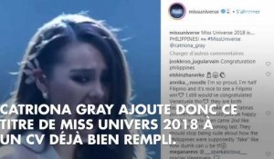 Miss Univers 2018 : Catriona Gray, Miss Philippines sacrée, Eva Colas éliminée avant le Top 20