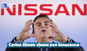 "En audience au Japon, Carlos Ghosn se dit ""faussement accusé"""