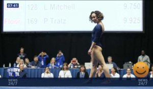 La folle prestation de la gymnaste Katelyn Ohashi