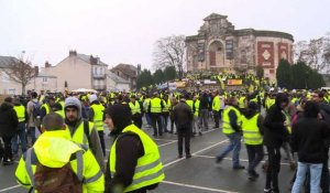 """Gilets jaunes"": mobilisation nationale à Bourges"