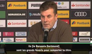 "17e j. - Hecking : ""Dortmund est le grand favori"""
