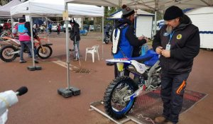 Verifications techniques et administratives Enduro du Touquet