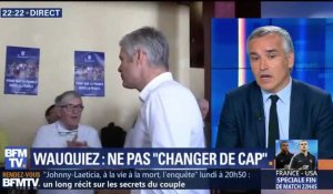 """Pour que la France reste la France"": Laurent Wauquiez ""assume"" le tract polémique (1/2)"