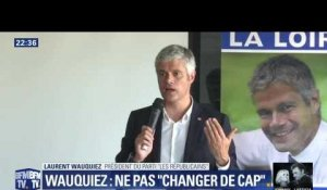 """Pour que la France reste la France"": Laurent Wauquiez ""assume"" le tract polémique (2/2)"