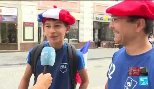 MONDIAL-2018 - France vs Uruguay : les supporters sont chauds