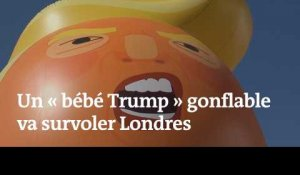"Un ""bébé Trump"" gonflable va survoler Londres"