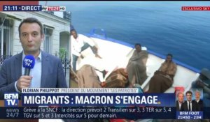 Macron tend la main aux migrants (1/2)