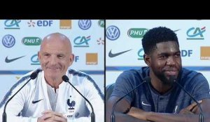 Uruguay - France: Cette blague d'Umtiti est en train de devenir un running gag