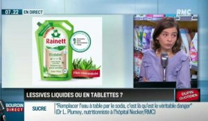 Dupin Quotidien : Lessives liquides ou en tablettes ? - 25/01