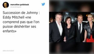 Eddy Mitchell soutient Laura Smet dans l'affaire du testament de Johnny.