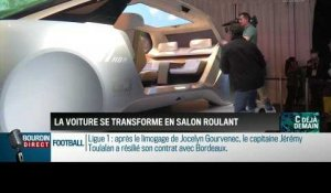 La chronique d'Anthony Morel : La voiture de demain se transforme en salon roulant - 19/01
