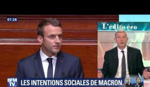 Les intentions sociales de Macron
