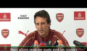 Arsenal - Emery veut cinq capitaines