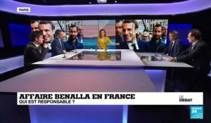 Affaire Benalla  en France : Qui est responsable ?